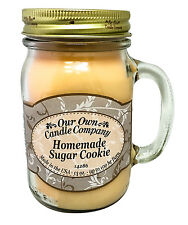 Homemade Sugar Cookie Scented Candle in 13oz Mason Jar by Our Own Candle Company