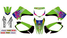5282 KAWASAKI KX 125-250 2003-2012 03-12 DECALS STICKERS GRAPHICS KIT