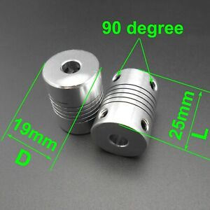 CNC Aluminum Alloy Shaft Flexible Coupling Winding Coupler 3/4/5/6/6.35/7/8/10mm