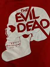 The Evil Dead Olly Moss 2Xl Xxl Mondo T-Shirt American Apparel 2010-11 Rare Oop