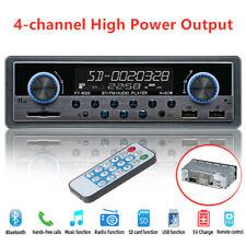 Car In-dash 4-Channe Stereo Player Bluetooth SD USB MP3 FM Radio  Audio AUX Fine