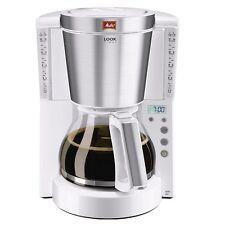 Melitta Look IV Timer Weiss - 10/15 Tassen Kaffeemaschine mit Timer-Funktion