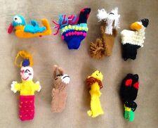 Peruvian Finger Puppets
