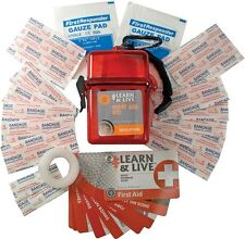 UST ULTIMATE SURVIVAL - LIVE & LEARN FIRST AID KIT IN PLASTIC CASE, WG02747