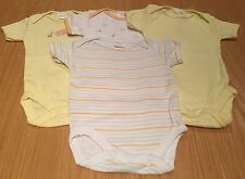 Four Unisex Bee Bo Baby Vests Size 0-3 Months