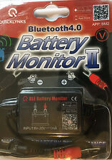 Quicklynks 4.0 Bluetooth Battery Monitor tester II BM2 BLE 12v UK SELLER