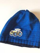 53  NEU DÖLL Baby Topfmütze Jersey blau weiß gestreift Gr 49 51