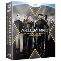 X-Men Collection (Blu-ray, 2016, 5-Disc Set) Eng,Russian,Italian,French,Czech