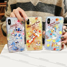 Disney Cartoon Soft Clear Case Cover For iPhone 6-11 Pro XS MAX Samsung S10+ P30