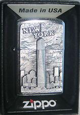 ZIPPO NEW YORK  One World Trade Center  PLATTE CHROM Neu 2016