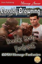 Bdsm Menage Fantasies: Double Dom Fantasies Bk. 3 by Cassidy Browning (2013,...