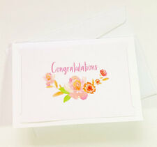 Congratulations Cards Greeting Wedding Engagement Pregnancy Baby Card CONGRATS20