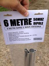 6 METRE DIPOLE ANTENNA KIT FOR 50-52MHz BAND CEECOM 6METER 6M AMATEUR RADIO HAM