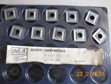 10  Wendeschneidplatten Wendeplatten  WSP,  SNUM 190616 350     HS 345  NEU