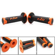 KTM RC 390 250 200 125 Duke 790 690 390 7/8 22mm Rubber Hand Grips Handle Gel