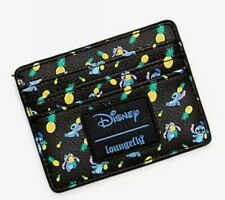 Loungefly Disney Lilo & Stitch and Black Pineapple Cardholder ID Wallet Card