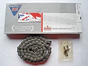 1/2 x 5/16 428 x 75 Links. PRIMARY Drive CHAIN Elite Wassell Suit Norton 16H ES2