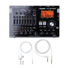 Boss BR-800 Digital Recorder w/free BA-PC15 Earphones/Guitar Cable Set New