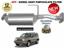 FOR JEEP COMMANDER 3.0 CRD 2006-2010 NEW DPF DIESEL SOOT PARTICULATE FILTER