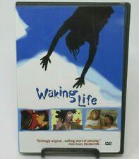 Waking Life Dvd Movie, Wiley Wiggins, Sandra Adair, Animated Feature, Ws
