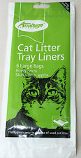 Armitage Large Cat Litter Tray Liners Bags Hygienic Way to Dispose 52x40cm 1