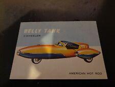 1954 Topps 3 Wheel Bellytank 46 World On Wheels Non Sport Trading Card VG