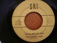 SKI 45 RECORD/ HARMONY KINGS/ YES SIR SHE'S MY BABY/BLUE EYES CRYING IN THE RAIN