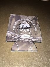 MOONSHINERS TIM SMITH SIGNED LOGO CAN KOOZIE MOONSHINE CLIMAX PROOF JSA