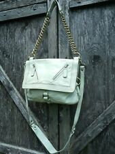 Urban Outfitters Satchel Crossbody by SABINA New York Leather Ice Grey  $269