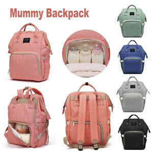 Multifunctional Baby Diaper Backpack Nappy Waterproof Luxury Mummy Changing Bag