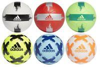 Adidas - Football Team Training Soccer Ball Size 4 5 Green White Yellow Blue