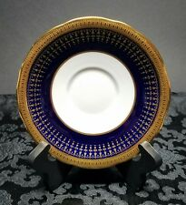 Aynsley HERTFORD COBALT SCALLOPED Saucer Plate (only) for Cup Bone China 7081