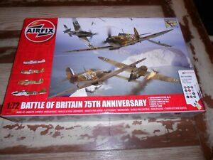 AIRFIX 50173, 1/72 BATTLE OF BRITAIN 75TH ANNIVERSARY PLASTIC MODEL KIT