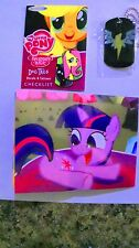 NEW My Little Pony Dog Tag Enterplay #20 THE WONDERBOLTS! Necklace! RARE!