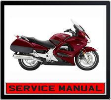HONDA ST1300 ABS 2002 ONWARD BIKE REPAIR SERVICE MANUAL IN DVD