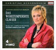 Bach: Das wohltemperirte Clavier, Books 1 & 2 (CD, Jan-2012, 4 Discs,...