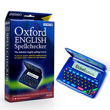 Seiko ER1100 Electronic Spell Checker Crossword Anagram Solver Calculator Games