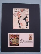 The 100th Anniversary of Baseball by Norman Rockwell  & First Day Cover