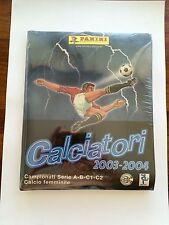 Álbum Calciatori 2003-2004  Panini Precintado Completo