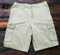 Beverly Hills Polo Club Cream Cargo Shorts Men's Size 32
