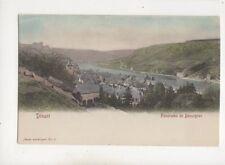 Dinant Panorama de Bouvignes Belgium Vintage U/B Postcard 505b