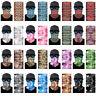 3D Geometric pattern Face Shield Sun Mask Neck Gaiter Balaclava Scarf Headwear