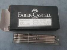 FABER CASTELL BOITE DE 5 RECHARGES STYLO BILLE NOIR 148760 NEUF