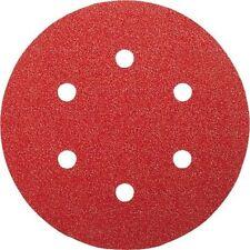 "50 X Bosch 150mm 6"" Velcro Sander Sanding Discs 120 Grit 2 608 607 837"