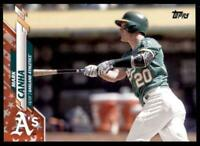 2020 Topps Series 2 Base Independence #474 Mark Canha /76 - Oakland Athletics