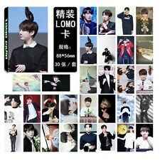 BTS Collective Jung Kook Personal Photo Picture V Suga Poster Lomo Card 30pc set