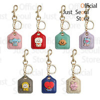 Official BTS BT21 Baby Leather Metal Keyring +Freebie +Free Tracking KPOP