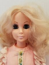 "Rare 1963 Eegee Doll 15 "" Tall Blonde With Sleepy Blue Eyes, Original Dress"