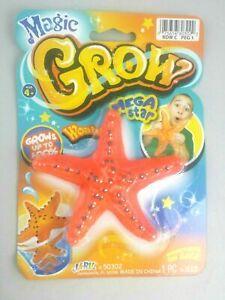 Magic Grow Mega Starfish Increases 600% Ages 4+ L22