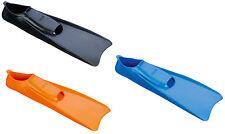 BECO Palmes en caoutchouc pour la natation Noir/Orange/Bleu Tailles 23/24-46/47